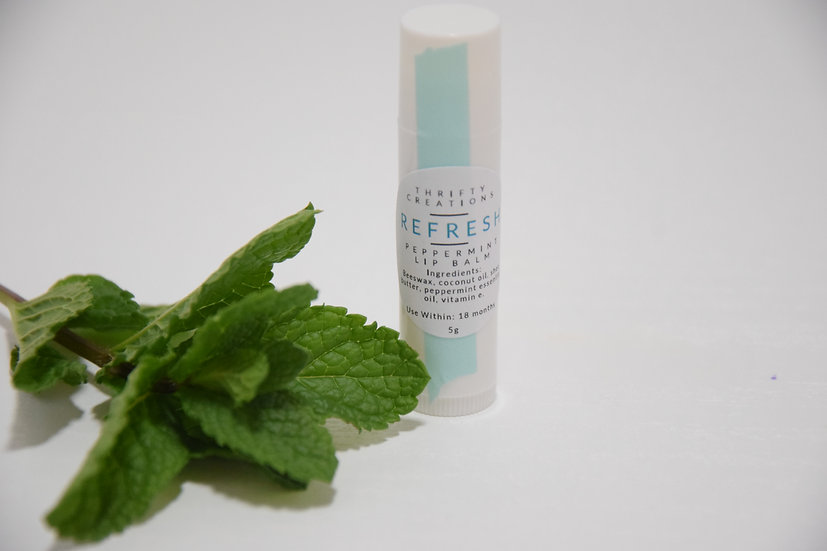 Refresh Peppermint Lip Balm
