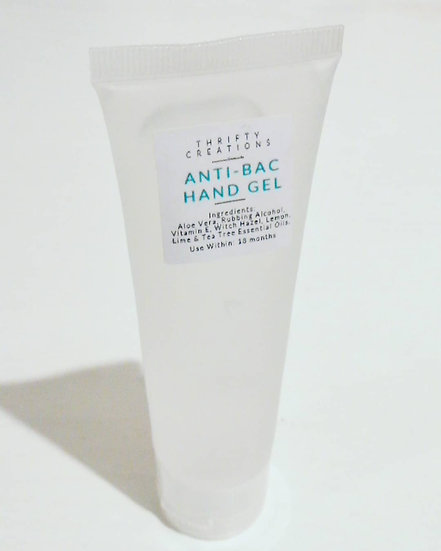 Antibacterial Hand Gel 50ml (with alcohol)
