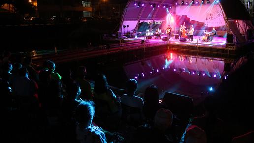 宜蘭頭城《詩樂人文祭》水上舞台音樂會