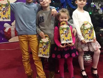 Новогодние праздники для детей!