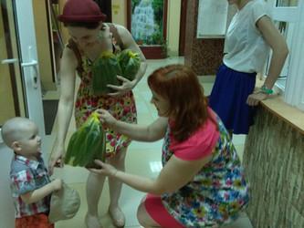 Сезонные овощи для наших благополучателей