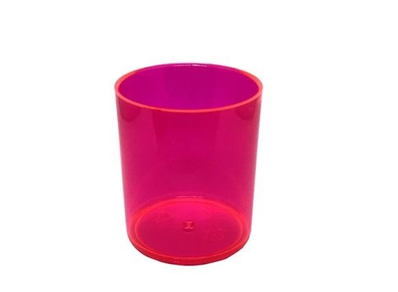 Copo Whisky Rosa Neon