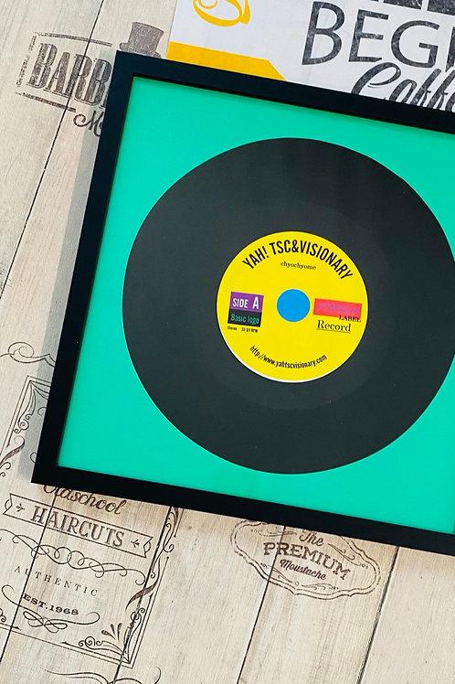 オリジナルレコード盤フォトフレーム