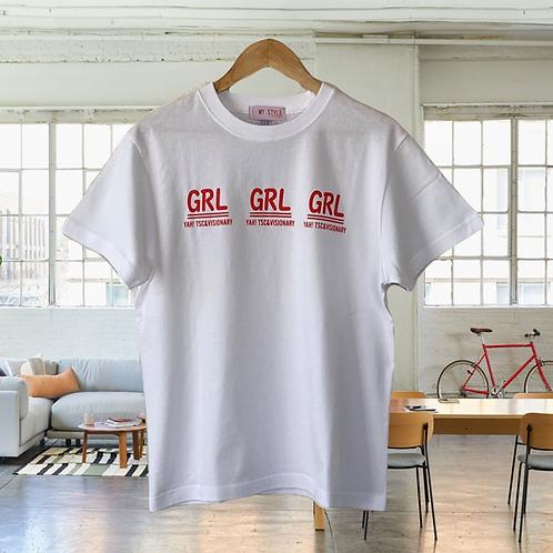 ガールロゴ Tシャツ