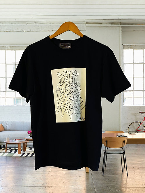 The Artist×MY STYLE グラフィティロゴTシャツ