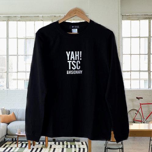 センターロゴ ロングスリーブTシャツ