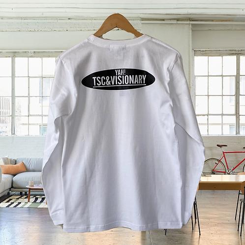 YTSC&Vロゴ ロングスリーブTシャツ