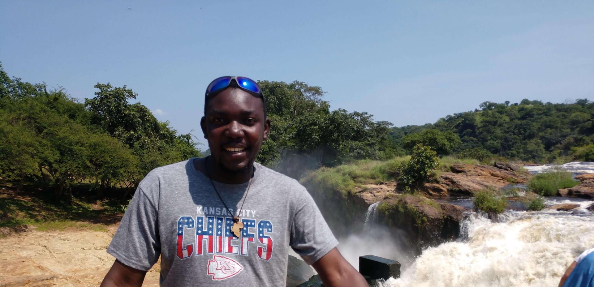 Fredrick at the rapids.