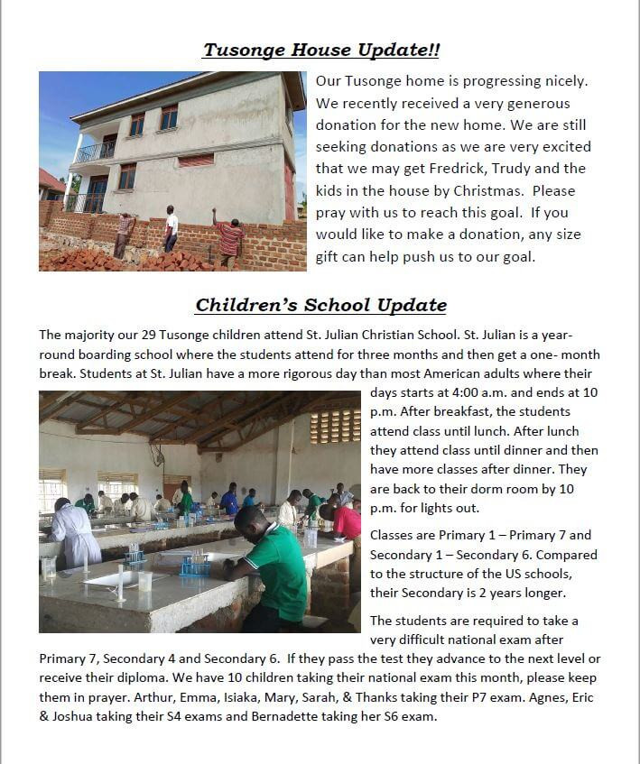 October 2018 Newsletter Page 2