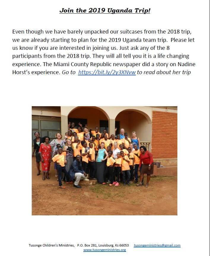 October 2018 Newsletter Page 3