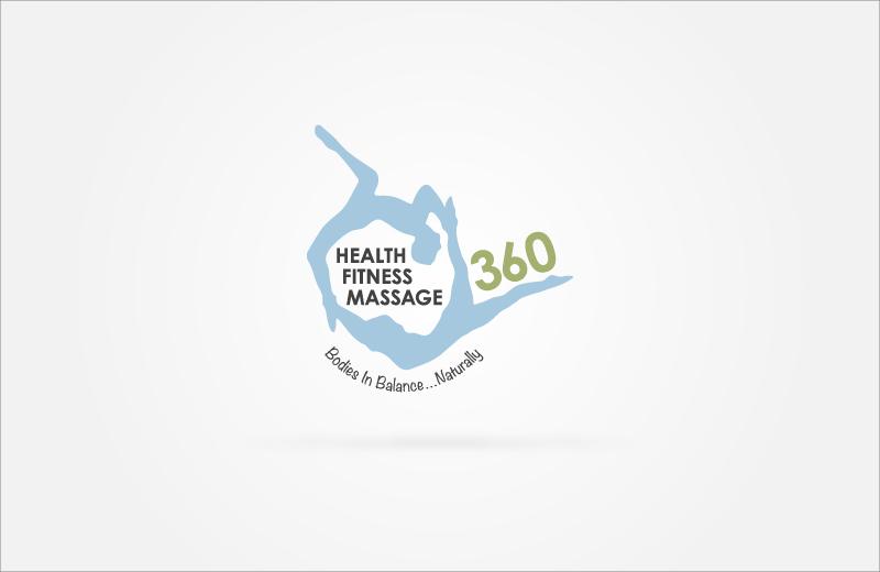 360 Health Fitness Massage Logo