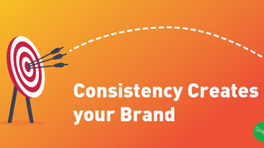 Consistency Creates your Brand