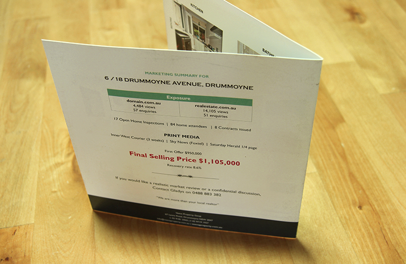 Property Pamphlet (Back)