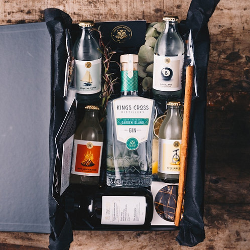 Garden Island Navy Strength Gin 700ml Gift Pack