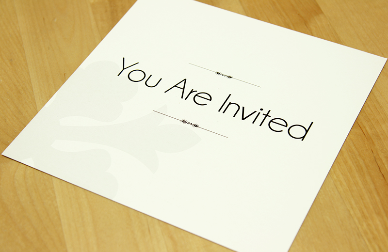 VIP Invitation (Back)