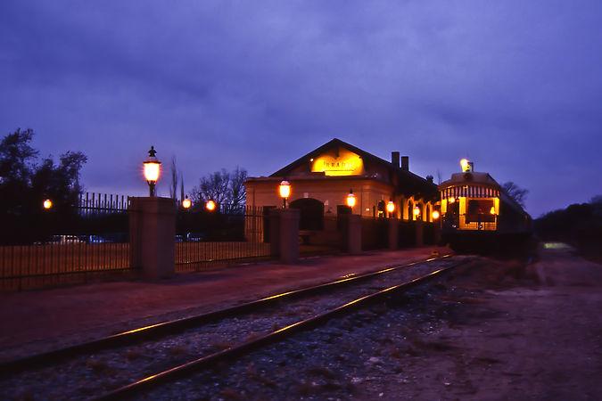 Historic Brady Train Depot