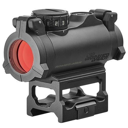 Sig Sauer Electro-Optics Romeo-MSR 1x 20mm 2 MOA Red Dot Black