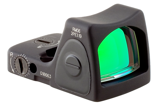 Trijicon 700672 RMR 1x 3.25 MOA Red Dot Black CR2032 Lithium