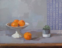 Oranges with Blue Harebell