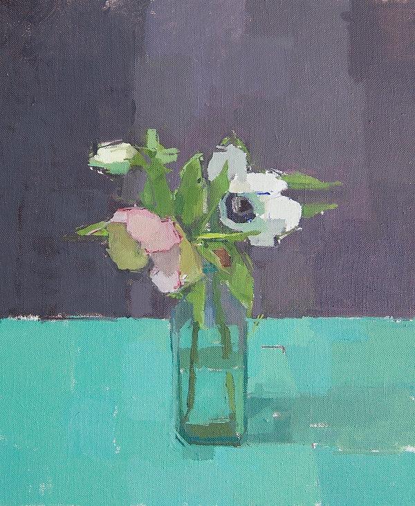 Spackman Claire's Spring Garden Flowers o_l 30x25cm.jpeg