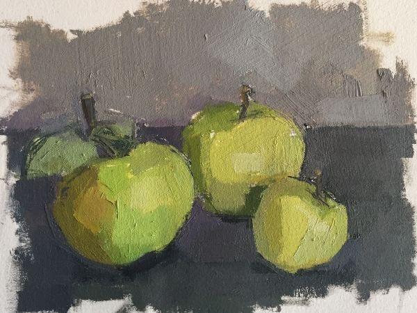 Spackman- Garden Apples.JPG