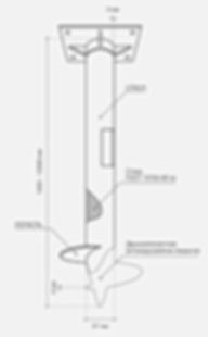 схема винтовой сваи Йошкар-Ола