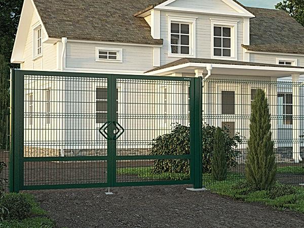 Распашные ворота DoorHan в Йошкар-Оле