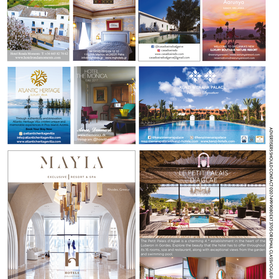 Vogue Travel Collection - April/2019