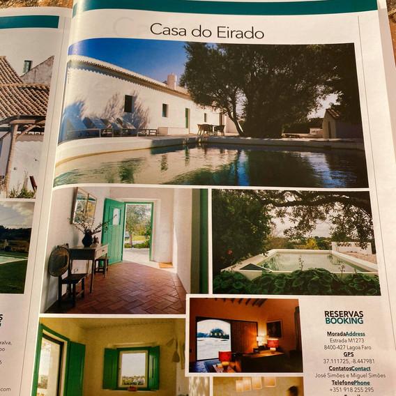 Inside Hotéis de Campo Magazine