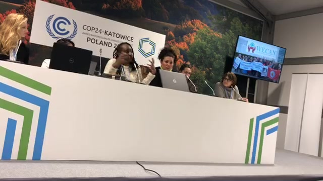 COP24 Poland - Women for Climate Justice Leading Solutions on the Frontlines of Climate Change