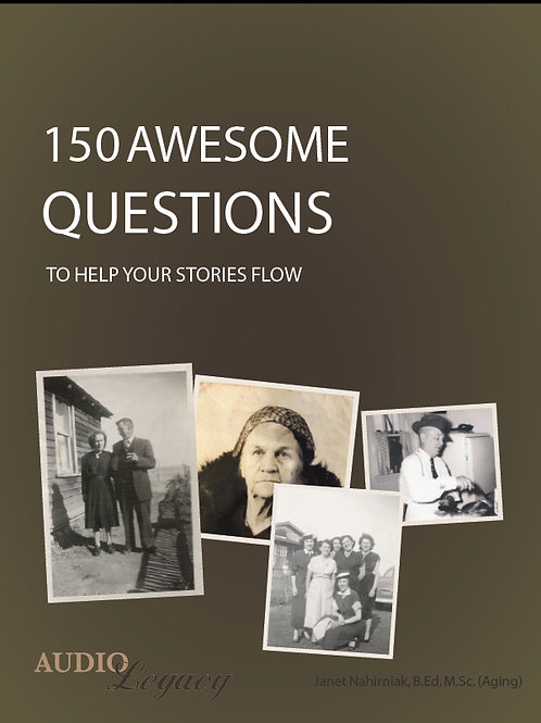 150+ AWESOME QUESTIONS TO HELP THE STORIES FLOW