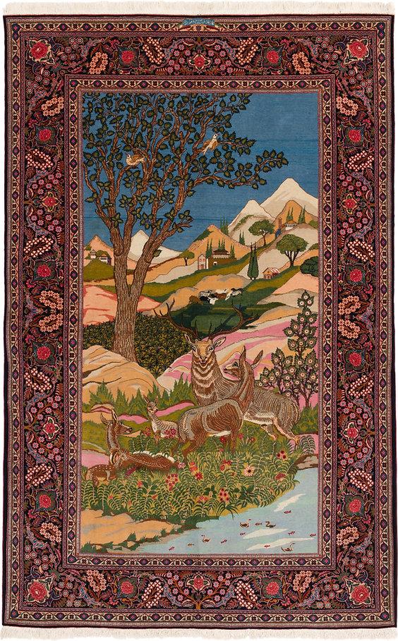 ダラコレクション ペルシャ絨毯
