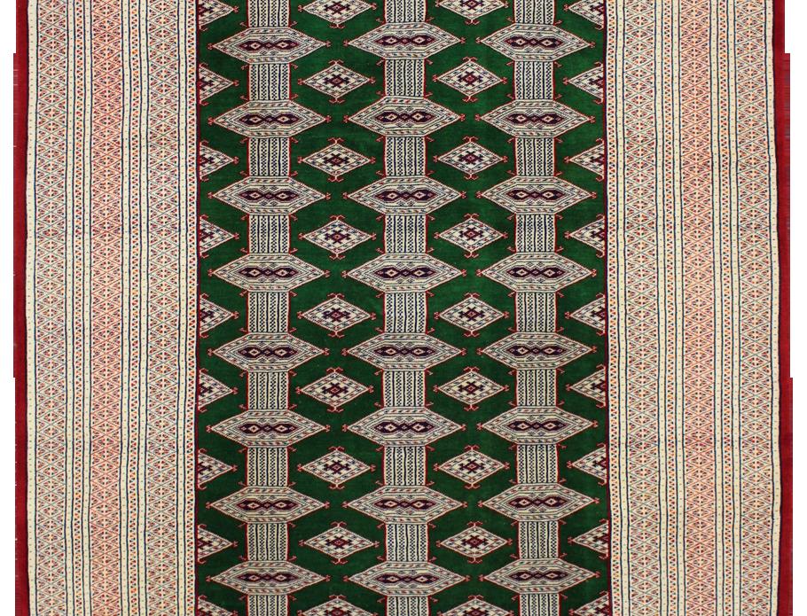 33132/トルクメン幾何連続文絨毯