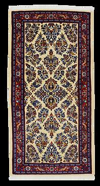 9096|サールーグ(サルーグ)・連花葉文様絨毯