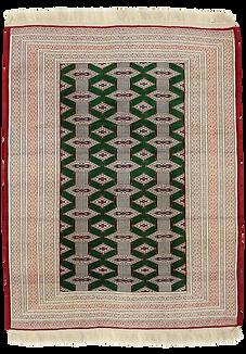 8879|トルクメン幾何連続文絨毯