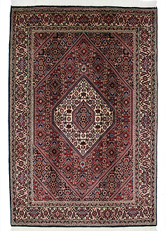 9092|ビージャール(ビジャー)・メダリオン文様絨毯