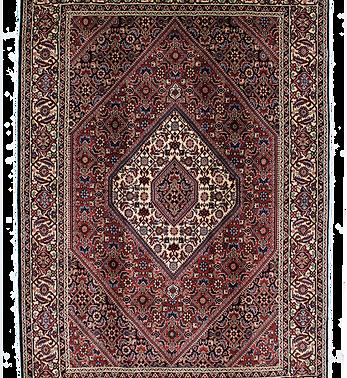 数寄の絨毯33211/ビージャール(ビジャー)メダリオン文様絨毯
