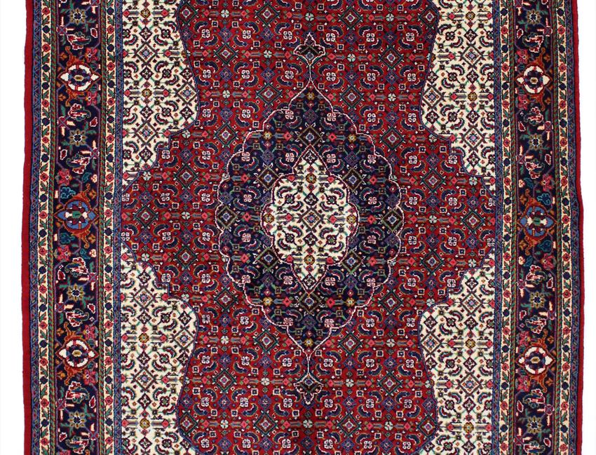 数寄の絨毯33225/ギアサバード・メダリオンコーナー文様絨毯