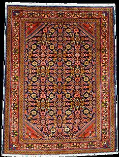 9061|/リーリヤーン(リリアン)連花葉文様絨毯