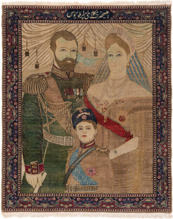 ニコライ皇帝肖像図絨毯