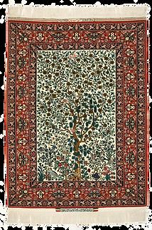 樹木動物文様絨毯.png