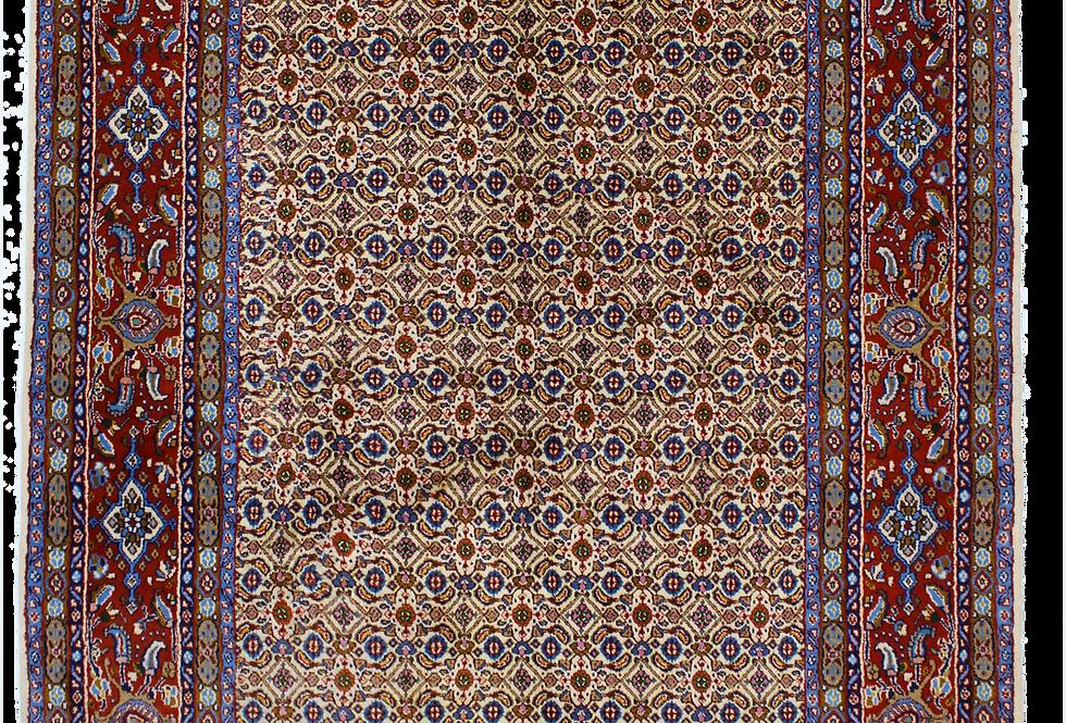 数寄の絨毯33263ペルシャ・ムード連花葉文様絨毯
