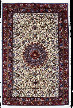 9101|ギアサバード・メダリオン文様絨毯