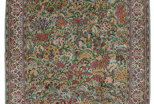 数寄の絨毯km6906/ケルマーン千花文様絨毯