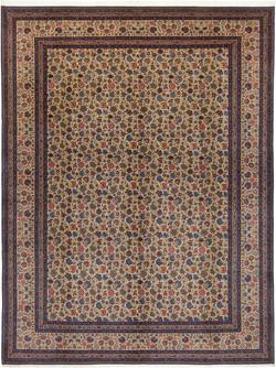 反復花文絨毯