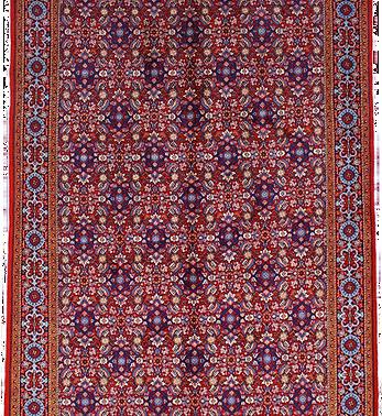 数寄の絨毯33227/ギアサバード・連花葉文様絨毯