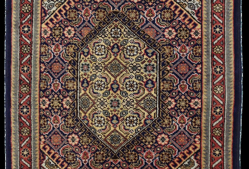 9004/サナンダージュ・幾何メダリオン文絨毯