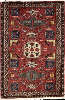 9005|バルーチ・幾何連続文様絨毯