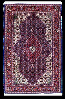 9062|ギアサバード・メダリオンコーナー文様絨毯