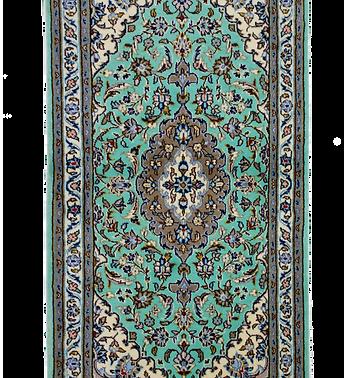 数寄の絨毯33276/カーシャーン・メダリオンコーナー文様絨毯